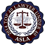 2014 Top 40 Lawyer Badge